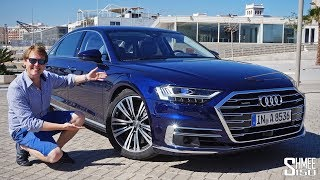 The NEW Audi A8 is the ULTIMATE TECH FEST! | REVIEW