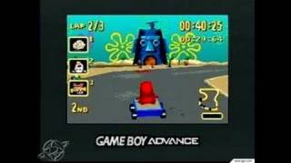 Nicktoons Racing Game Boy Gameplay