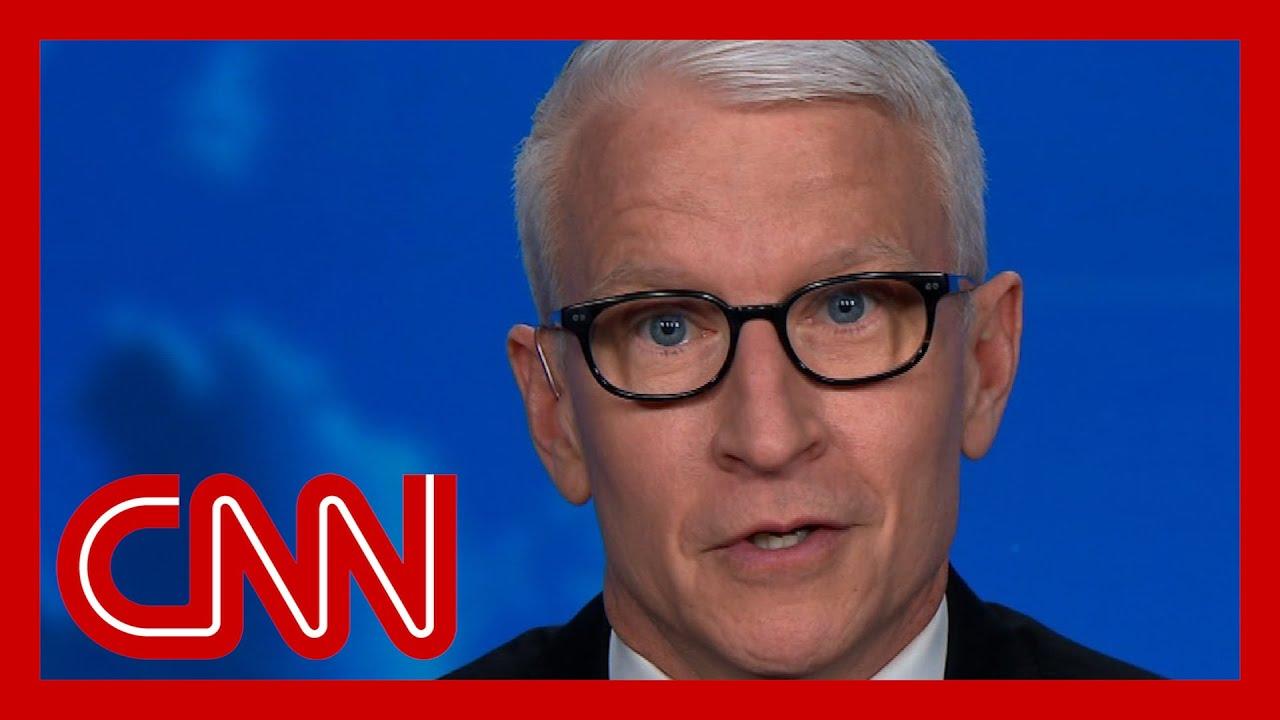 Anderson Cooper: Trump is pretending Covid-19 is gone