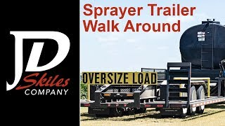 JD Skiles Sprayer Semi Trailer
