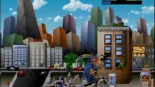 Rampage World Tour - N64 Gameplay