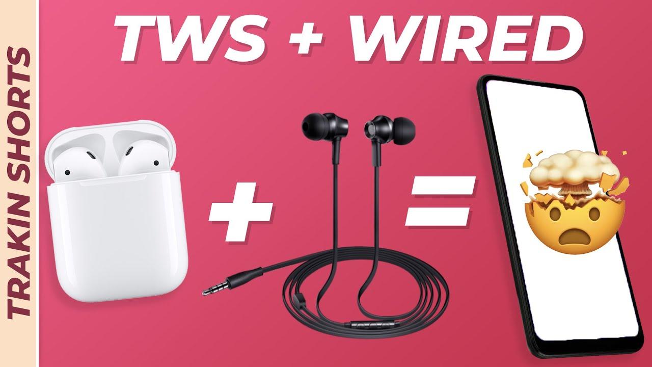 अब क्या होगा? TWS चलेंगे या Wired एअरफोन्स? 🤔⚡️ #TrakinShorts #Shorts