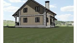 Проект каркасного дома КД-22, 10х10 м.(, 2015-06-02T16:22:39.000Z)