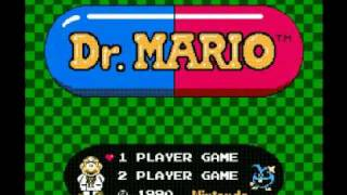 Dr. Mario (NES) Music - Menu Theme