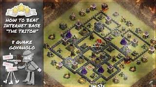 Clash of Clans - Game Plan: Beating the Triton | TH9 GoVaHoLo Attack Strategy
