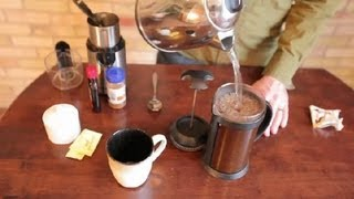 Easy Vanilla Flavored Coffee Recipe to Make at Home : Making Coffee