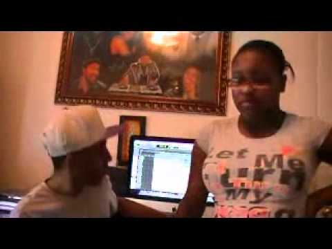 MS Neicey & Producer Kool-Kid Beezi in da Studio Making of upcoming Mixtape 2012