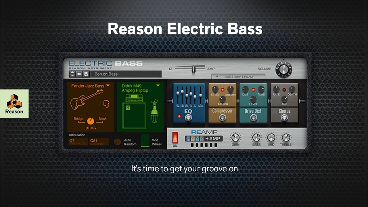 Introducing Reason Electric Bass for Reason Rack Extensions - YouTube