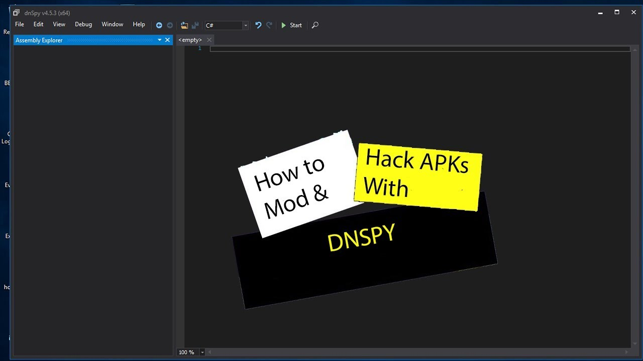 How to Mod or Hack Apk's Using DnSpy