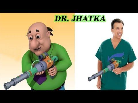 Motu Patlu cartoon characters in real life...