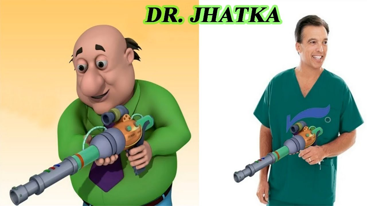 Motu Patlu Cartoon Characters In Real Life 2018 Youtube