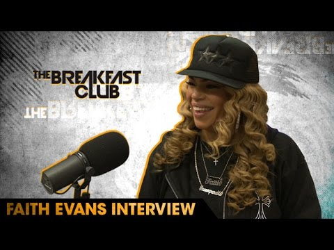 Faith Evans Talks Biggie's Legacy, Her Relationship with Lil' Kim, Stevie J & More
