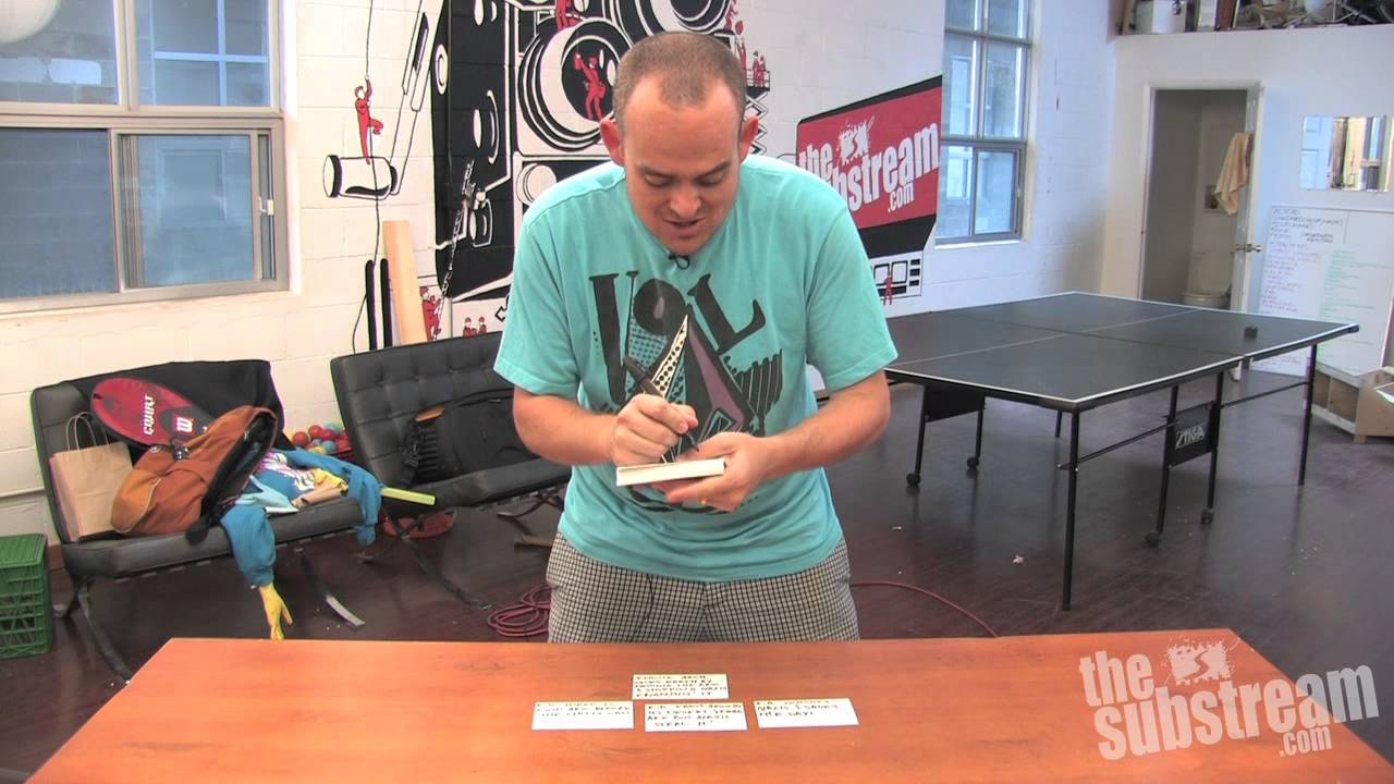 The Film Lab: A Screenwriter's Card Trick