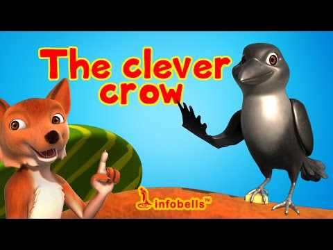 The Clever Crow | Stories for Kids | Infobells