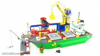 LEGO 4645 City Harbor set review!