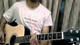 laaga chunari mein daag on guitar lesson