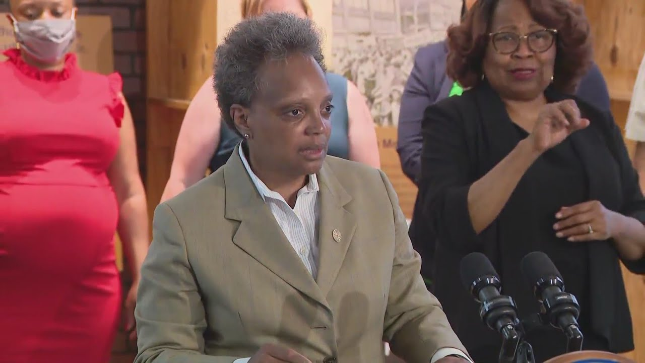 Download Mayor Lightfoot declares racism a public health crisis in Chicago
