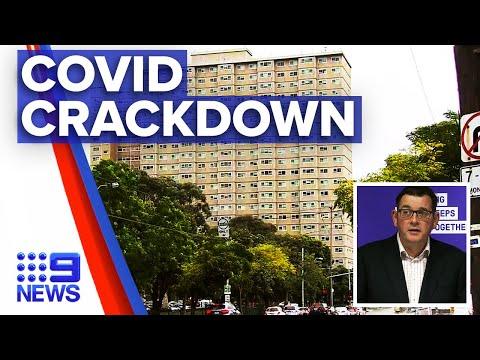 Coronavirus: Two postcodes added to Victoria's lockdown | 9 News Australia