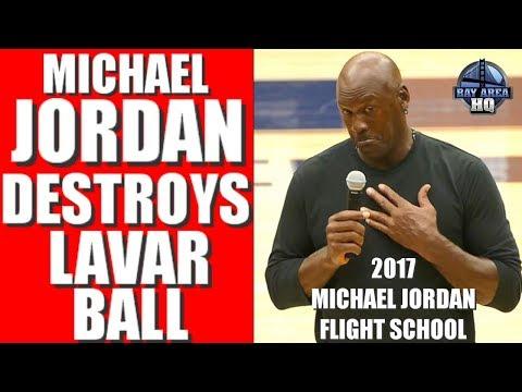 "Michael Jordan vs. Lavar Ball ""I DON'T THINK HE COULD BEAT ME IF I WAS ONE-LEGGED!"" 2017 MJFS"