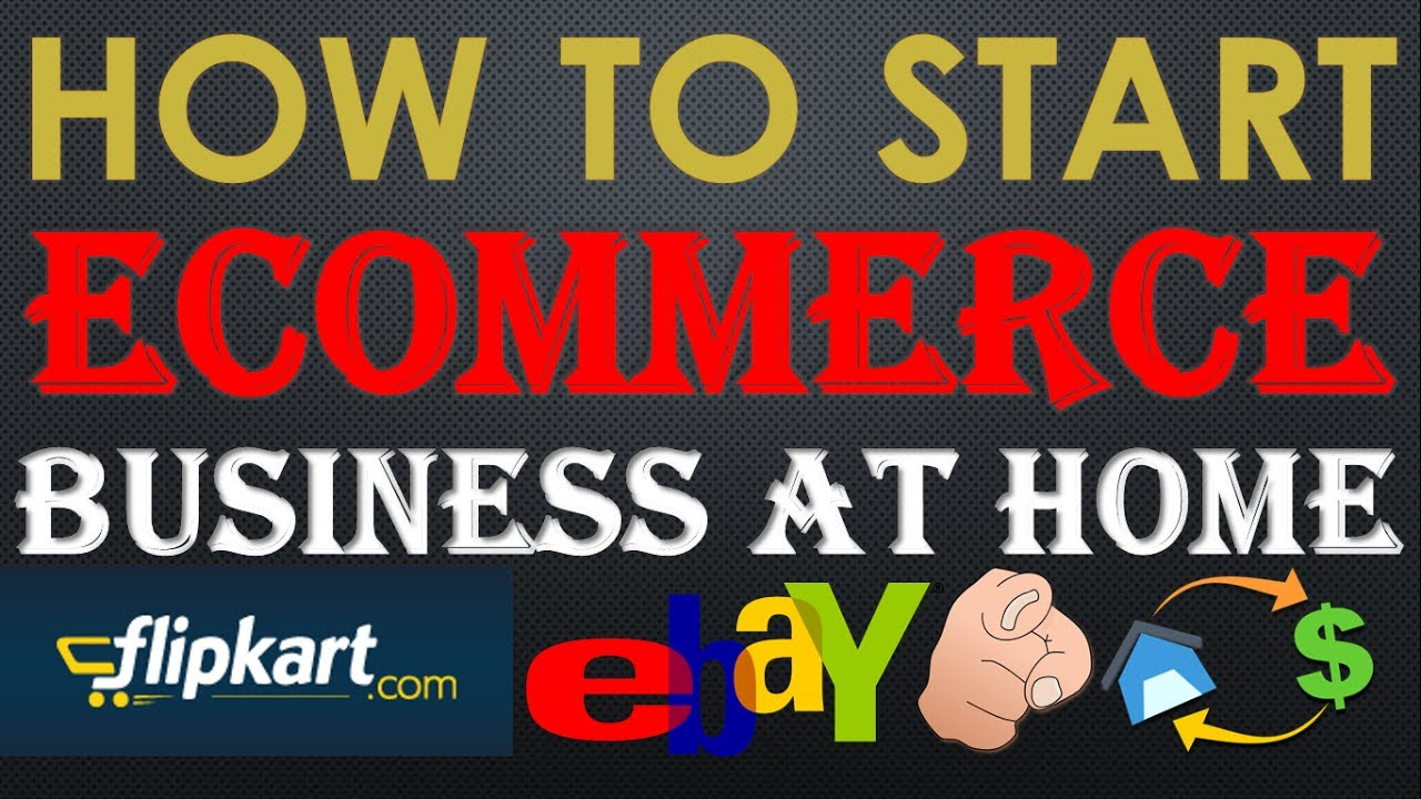 {HINDI} how to start a successful ecommerce business in india || sell your products online  at home✔