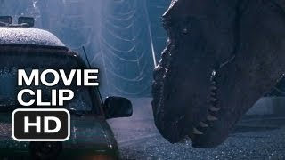 Jurassic Park 3D Movie CLIP - T-Rex Attack (1993) - Steven Spielberg Movie HD
