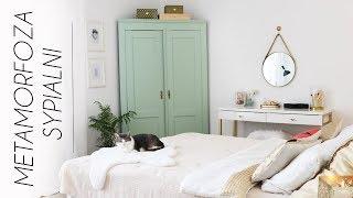 Metamorfoza mojej sypialni  DIY i przerabianie starych mebli