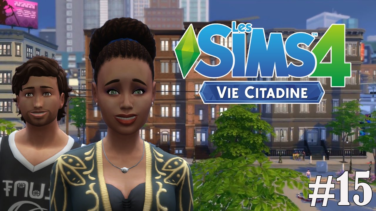 les sims 4 vie citadine ep 15 mariage let 39 s play fr youtube. Black Bedroom Furniture Sets. Home Design Ideas