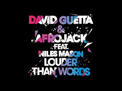 David Guetta & Afrojack Feat. Niles Mason - Louder Than Words (Radio Edit)