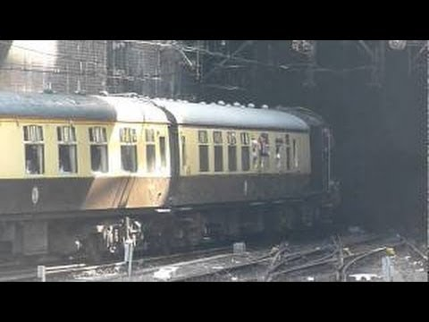 5043 Earl of Mount Edgcumbe Departing From Birmingham New Street Station 21-05-2011.avi