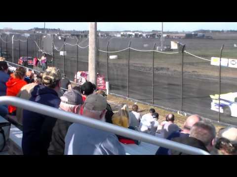Sport Mod Heat 3 @ Hancock County Speedway 04/03/16