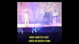 Pet Shop Boys New York City Boy sub. Ingles y español