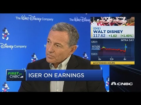Disney CEO comments on company's performance