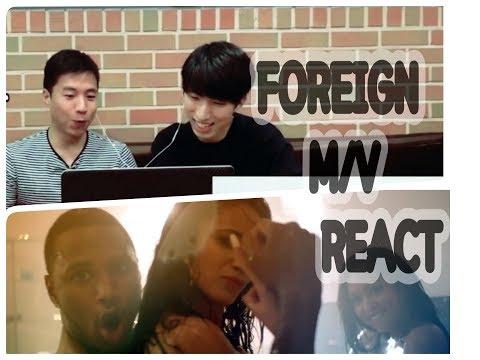[리액션 요청작] 파라다이스 뮤비! Koreans React to Foreign (Trey Songz)