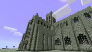 minecraft cathedral build