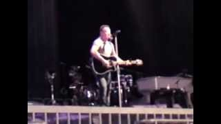 Bruce Springsteen - This Hard Land (acoustic) (live, Oslo, April 29th 2013)