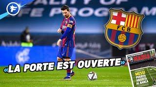 Les conditions pour que Lionel Messi reste au FC Barcelone | Revue de presse