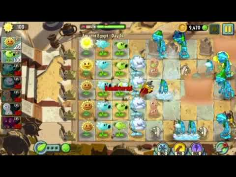 PvZ 2: It's About Time! Ancient Egypt Days 13-15