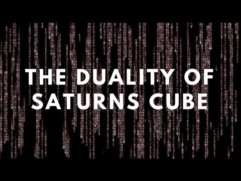 The Duality of Saturns cube