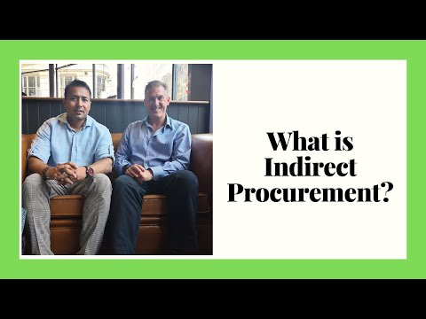 What is Indirect Procurement? Explained by Procurement Expert Richard Beaumont