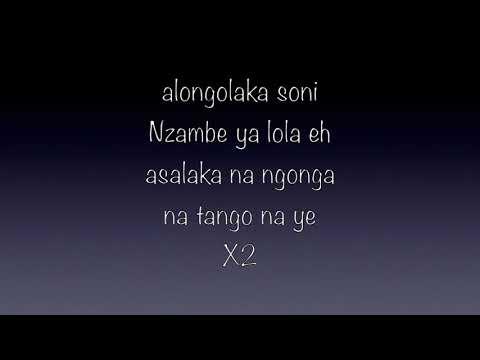 TANGO NA YE  parole/ lyrics Moise Mbiye