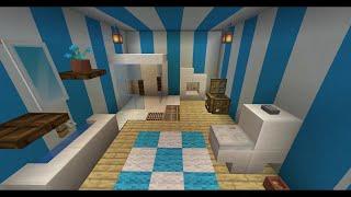 Ванная комната в Minecraft