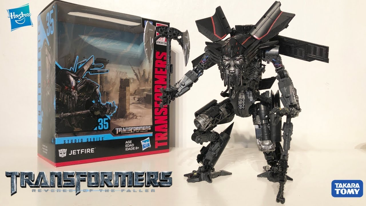 TRANSFORMERS Studio Series Jetfire Skyfire Movie Optimus Prime Action Figure Toy