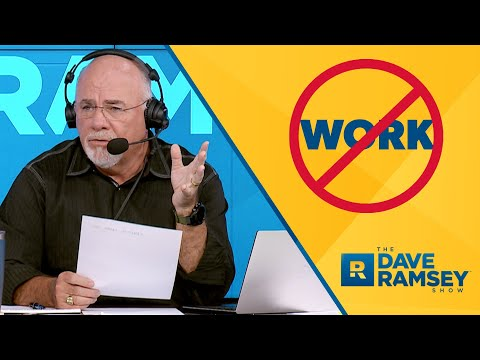 People Want to Stay Unemployed Because They Make More Money?! - Dave Ramsey Rant