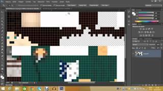 Minecraft : Como colocar skin da versão 1.8 no cinema 4d sem bug