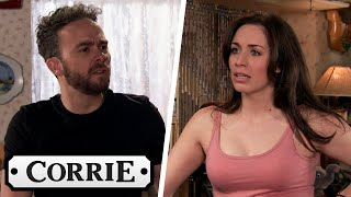 Shona Suggests to David That They Should Sleep Together   Coronation Street