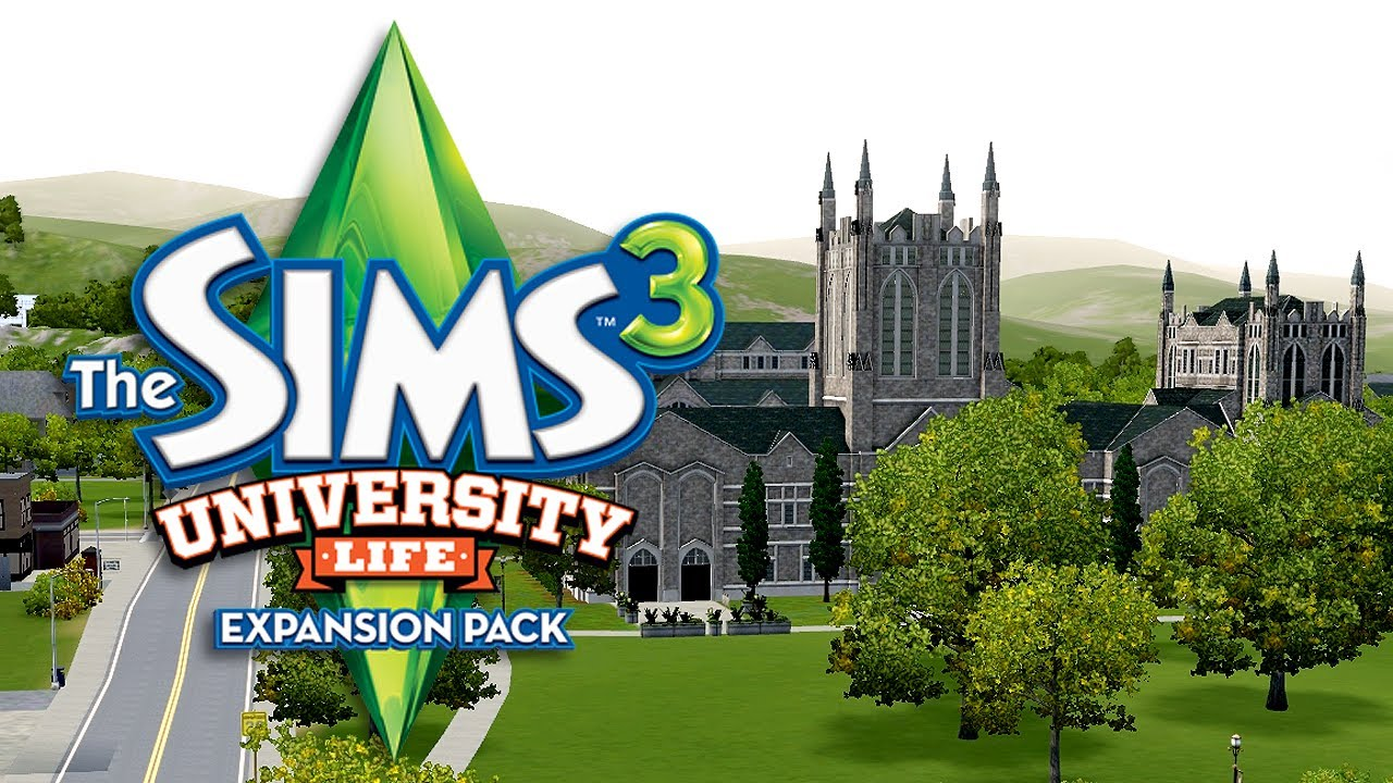 LGR - The Sims 3 University Life Review - YouTube