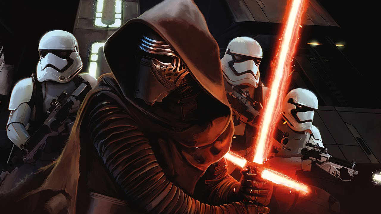 star wars the force awakens chrome theme and wallpaper - youtube
