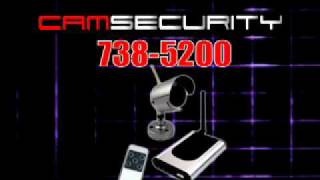 Cam Security CCTV Security Video Camera Systems for Home or Business