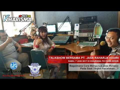 Talkshow Kharisma FM Pare Bersama PT. Jasa Raharja Kediri