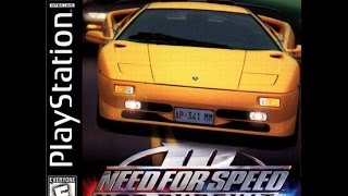 Let's Play Need For Speed III: Hot Pursuit (Playstation, 1998) Part 1